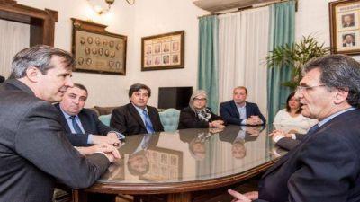 Bahl coincidió con el secretario de Derechos Humanos de Macri