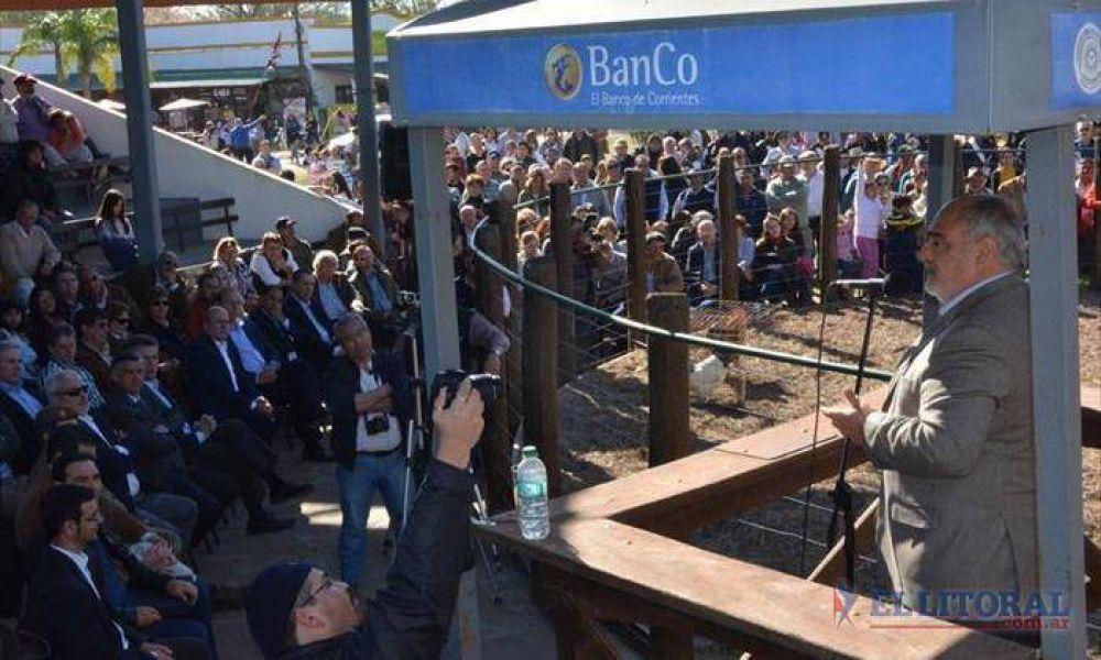 """Colombi en la Rural: """"El campo será el motor de la recuperación de la economía"""""""