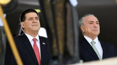 Temer y Cartes defendieron el