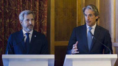 Frigerio firmó en Santander un acuerdo para fomentar inversiones en infraestructura, vivienda y transporte