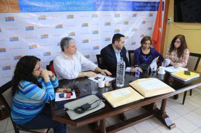 Gobierno abrió los sobres para la construcción de la red de gas del barrio El Mirador