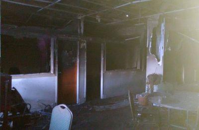 Un incendio intencional afectó las oficinas administrativas del IPRA