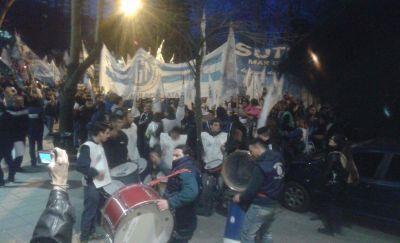 Centrales sindicales movilizaron en Mar del Plata contra los despidos y una eventual reforma laboral