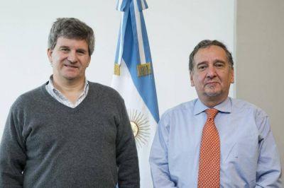 Martinioni se reunión con el Ministro de Ciencia y Tecnología de la Nación
