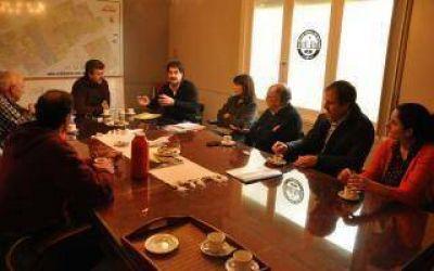 El ministro Sarquís supervisó la situación hídrica en Bolívar y Daireaux