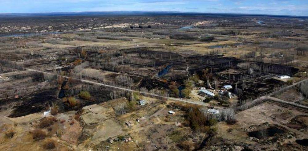 Preocupa la cantidad de hectáreas incendiadas