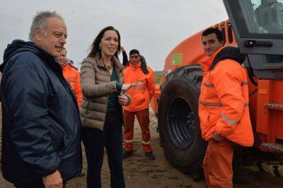 Vidal anunció la segunda calzada en las rutas 11 y 56 en General Lavalle