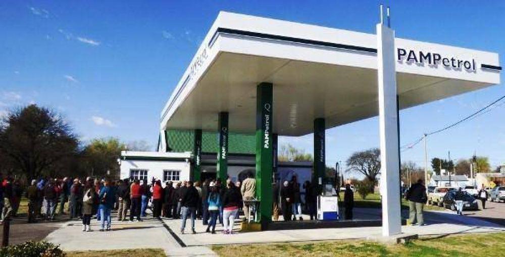 Nueva estación de Pampetrol en Quehué