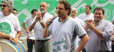 Judiciales vuelven a parar por 48 horas y le piden una oferta salarial digna a Vidal