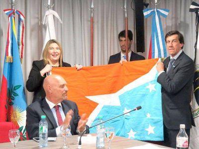 """Bertone: """"Aquí vendremos a defender con firmeza los recursos de Tierra del Fuego"""""""