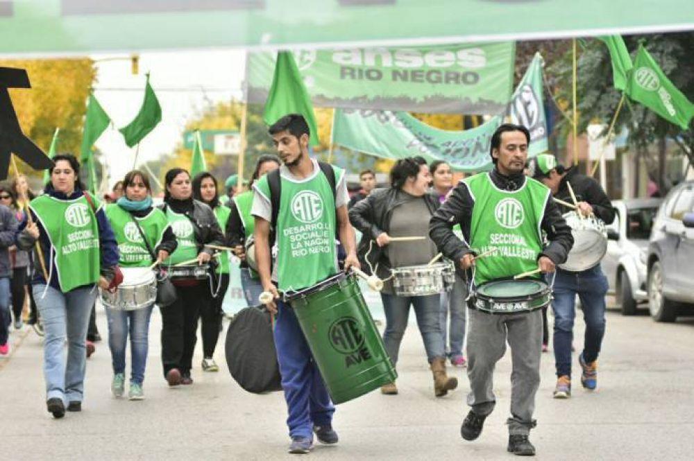 Otra protesta de ATE por 48 horas en Desarrollo Social