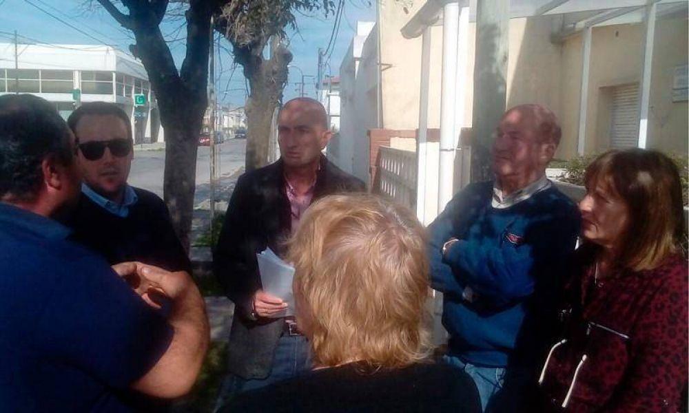 """Eduardo Rodríguez: """"Tenemos que evitar que conviertan el Hospital de Sierras Bayas en una salita de primeros auxilios"""""""
