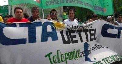 Plan de lucha en Telefónica por el despido discriminatorio de un gremialista