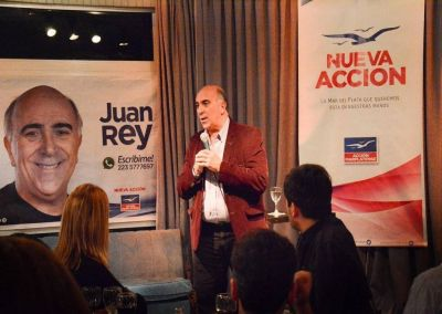 Ruptura en Acción Marplatense: Juan Rey no integrará la lista de Marcelo Artime