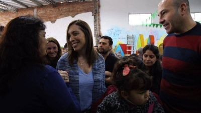 Vidal desembarcó en Quilmes, distrito donde CFK se impuso frente al oficialismo