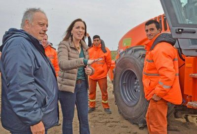 El gobierno de Vidal gastará $ 75 millones por día en obra pública antes de las elecciones
