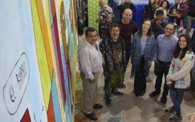 Vidal y Molina recorrieron Quilmes: Promovieron la lectura infantil junto a la actriz Juana Viale