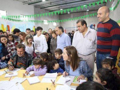 Un fuerte respaldo de la gobernadora Vidal a Molina
