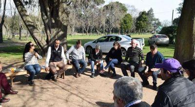 Salomón recibió a representantes del Programa Pueblos Turísticos