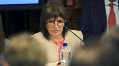 Patricia Bullrich sobre la desaparición de Santiago Maldonado: