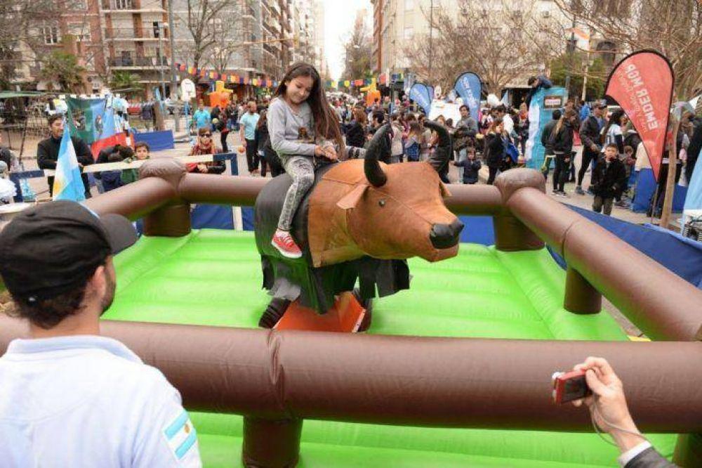 El Municipio festejó el Día del Niño con más de 3 mil chicos en Plaza San Martín