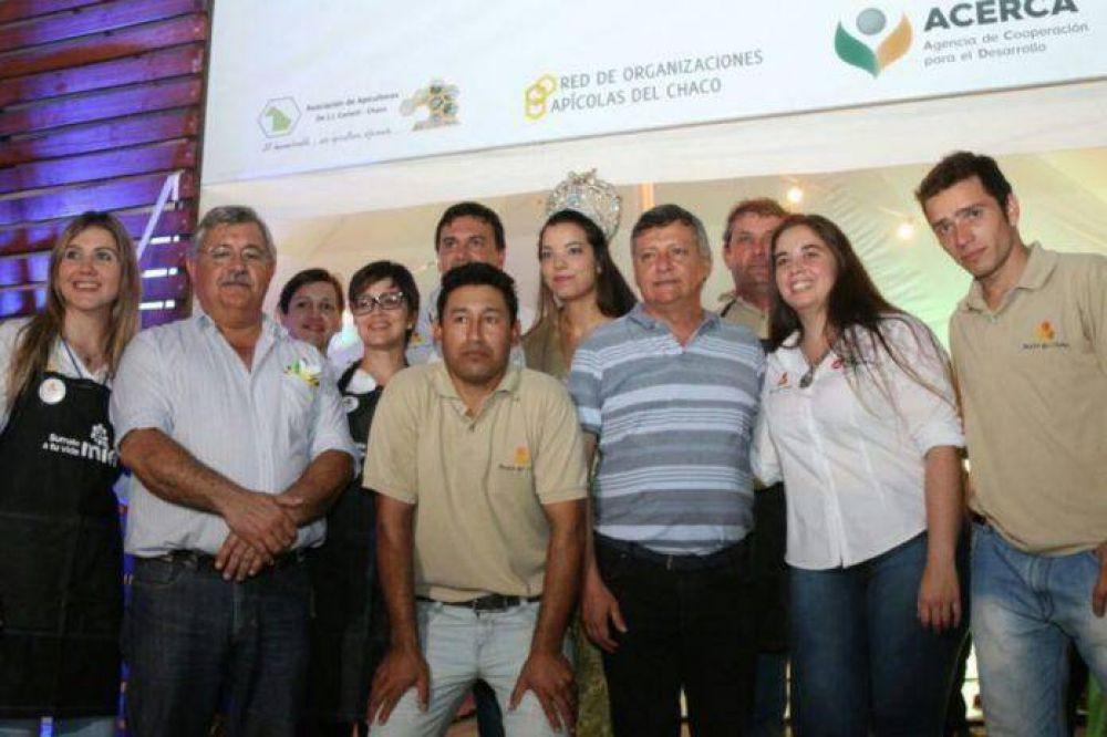Peppo inauguró la 23º Exposición de la apicultura del Impenetrable