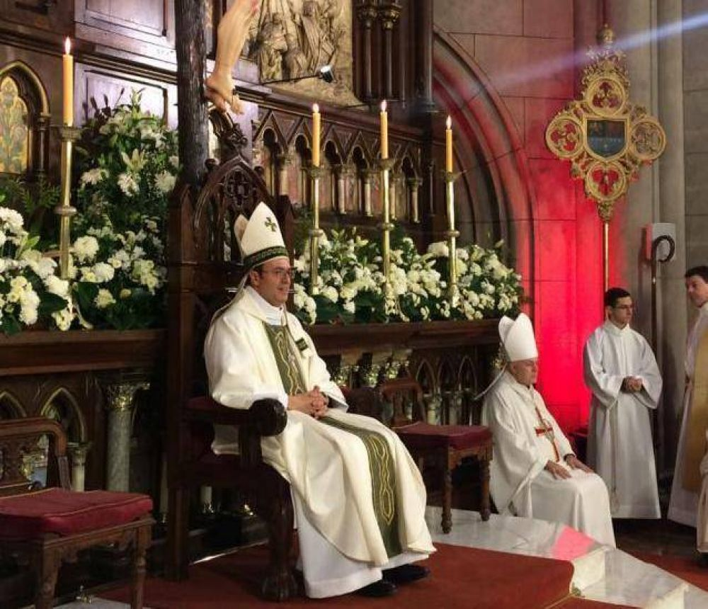 Una multitud recibió a monseñor Mestre, nuevo obispo de Mar del Plata