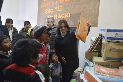 Corpacci inauguró edificio escolar y dejó abierto el periodo de escuelas especiales