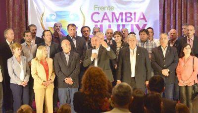 Presentaron oficialmente ayer el Frente Cambia Jujuy