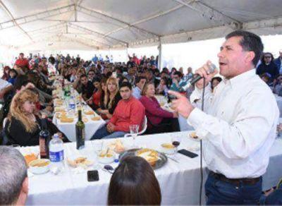 El peronismo celebró el triunfo electoral en Chilecito