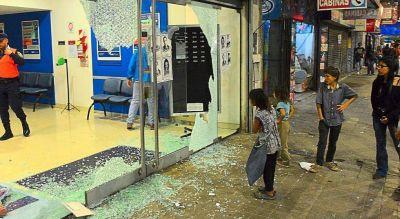 Incidentes en la marcha contra el gatillo fácil en Córdoba