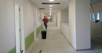 HIGA: el ministro de Salud bonaerense recorrió el final de las obras