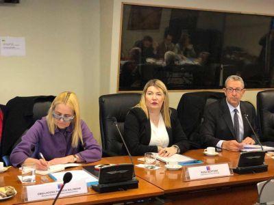 """Bertone integró la delegación argentina que participó en el """"Foro de Diálogo y Reflexión Estratégica Argentina-Chile"""""""