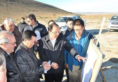 El presidente de Gezhouba visitó el obrador de la UTE
