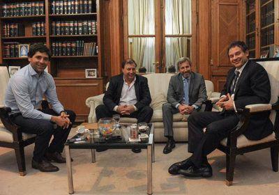 Costa se reunió con Frigerio por obras y aportes