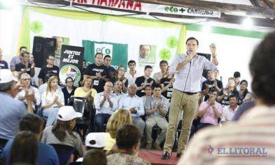 """Gustavo Valdés: """"Vamos a trabajar para el desarrollo"""""""