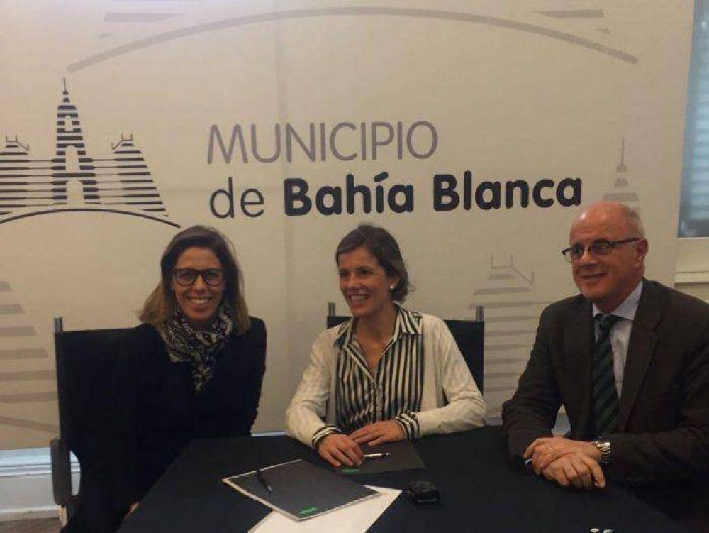 Aprile coordinó un convenio de anticorrupción en Bahía Blanca