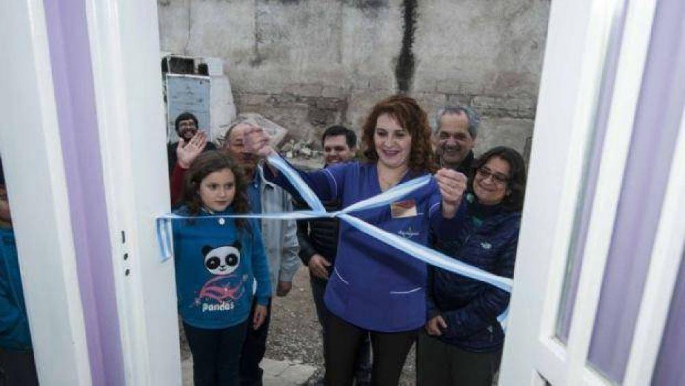 """Corpacci visitó a mujeres incluidas en """"Mi Barrio Emprende"""""""