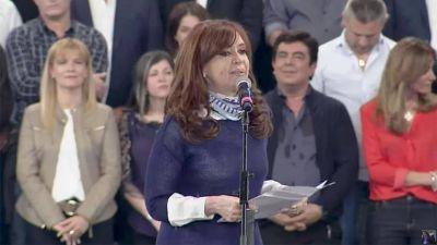Cristina relanzó la campaña:
