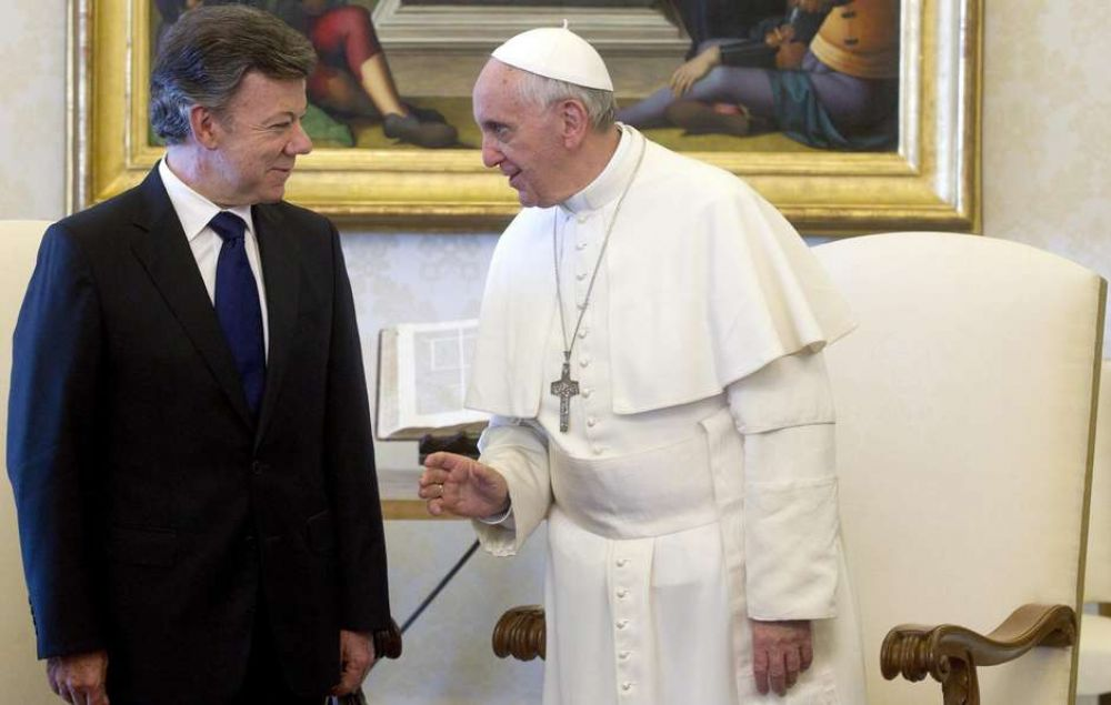 Para Santos la visita del Papa
