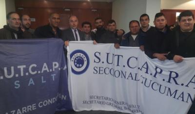 SUTCAPRA logró la adhesión de Tucumán a la ley de Controladores