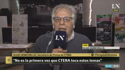 Ctera habló de los cuadernillos que difundió en las escuelas sobre el caso Santiago Maldonado