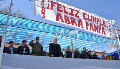 ABRA PAMPA CELEBRÓ UN NUEVO ANIVERSARIO DE SU FUNDACIÓN