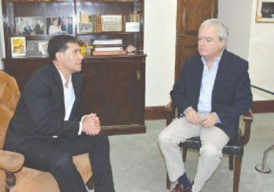 Casas se reunió con Federico Pinedo por más recursos