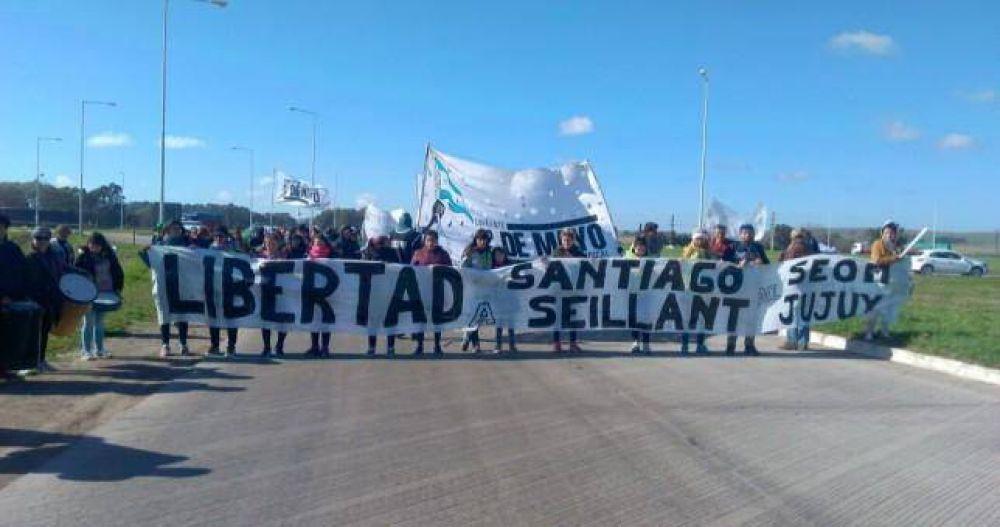 Movilizaciones por la libertad del sindicalista jujeño preso por protestar