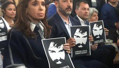Cristina participó de una misa en Merlo por Santiago Maldonado
