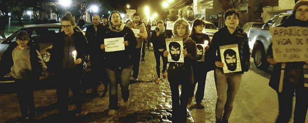 """Marcha por Maldonado en Dorrego: """"Si yo llegara a desaparecer, te pido que me busques"""""""