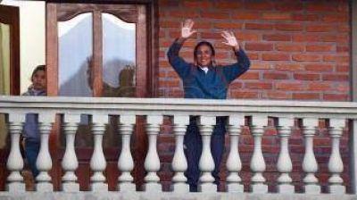 Milagro Sala, presa en su casa, se quejó por radio: