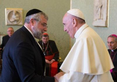 El Vaticano se reunió con líderes judíos europeos