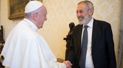 El Papa Francisco destaca la cooperación y la fraternidad entre católicos y judíos